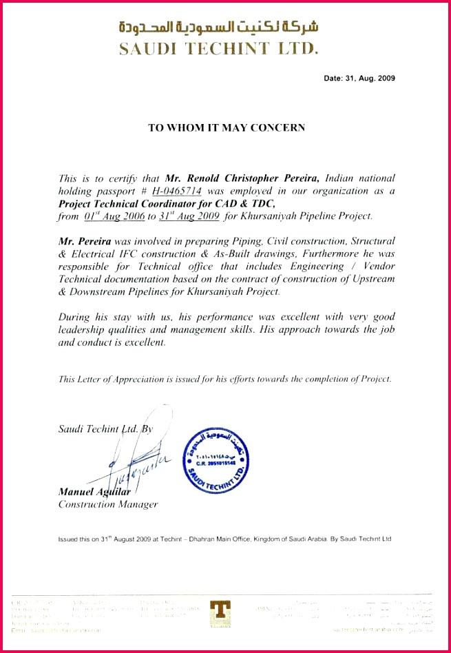 experience certificate template doc format letter photo medium job