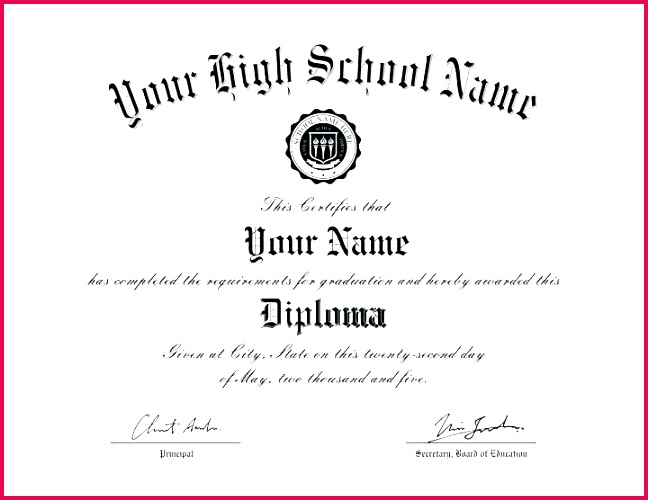 certificate template new free fake diploma of magnificent tandem ged blank college printable templates degrees graduation picture for