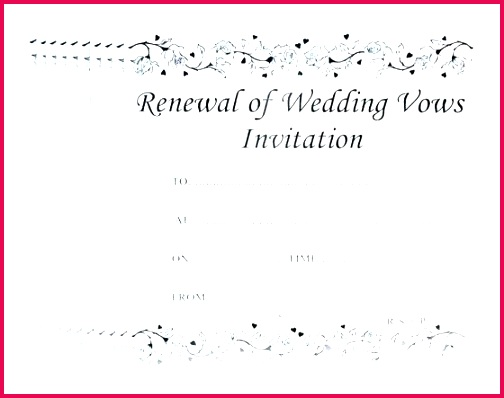 wedding certificate template vow renewal simple templates marriage india