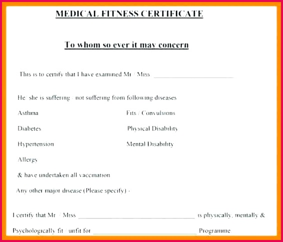 format of medical certificate by doctor template 6 7 sample from fake doctors free doctor certificate template word dr certificate template
