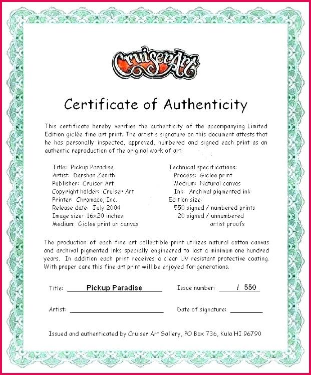 signature certificate of authenticity template how to create a certificate of authenticity for your photography signature certificate of authenticity template