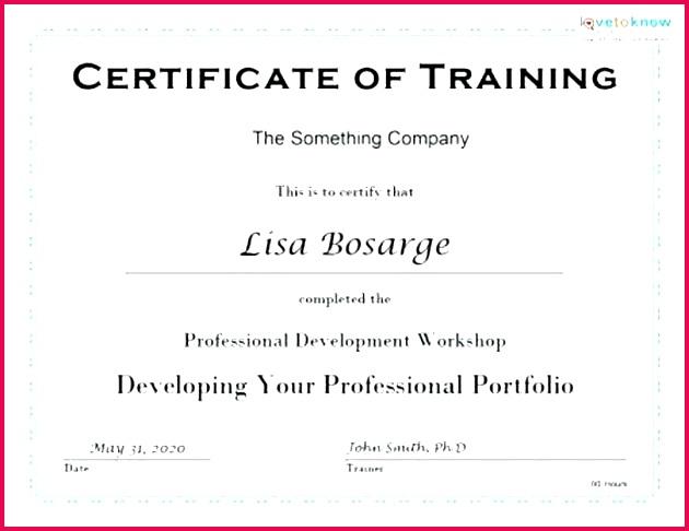 first aid certificate template word nonprofit management inspirational superb professional development