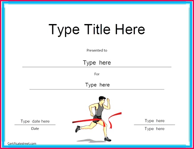 blank certificate templates sample sports participation certificate templates turabian template 0d of blank certificate templates