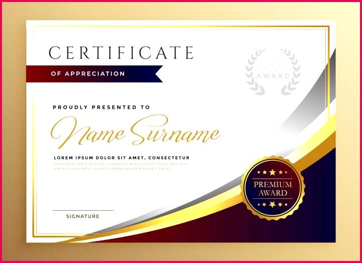 stylish certificate template design golden theme stylish certificate template design golden theme vector