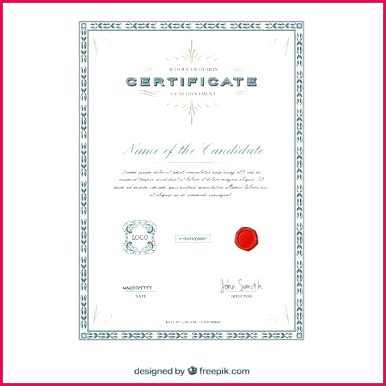 elegant certificate template vector free design templates award certificates word academic open office temp