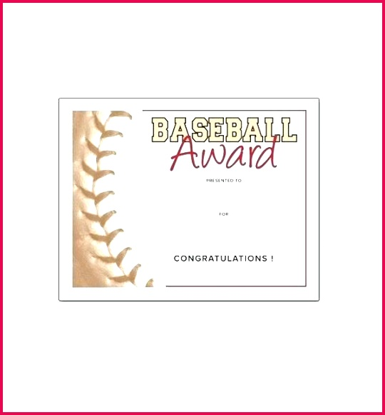 free certificate templates for youth athletic awards sports word award template superb funny softball printable