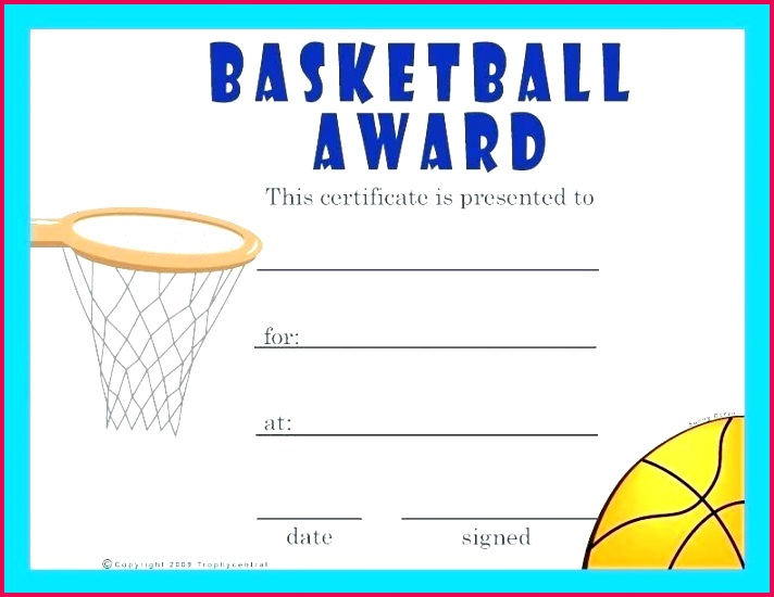 sports certificate template word printable award certificates for of participation awesome free basketball