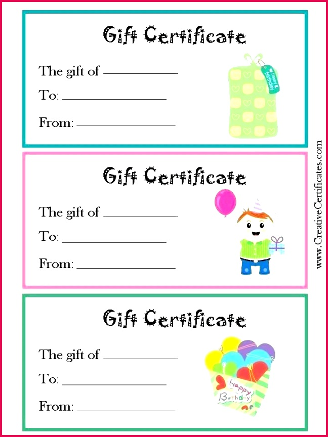 printable t voucher for birthday them or print certificate template free templates pages christmas certificat