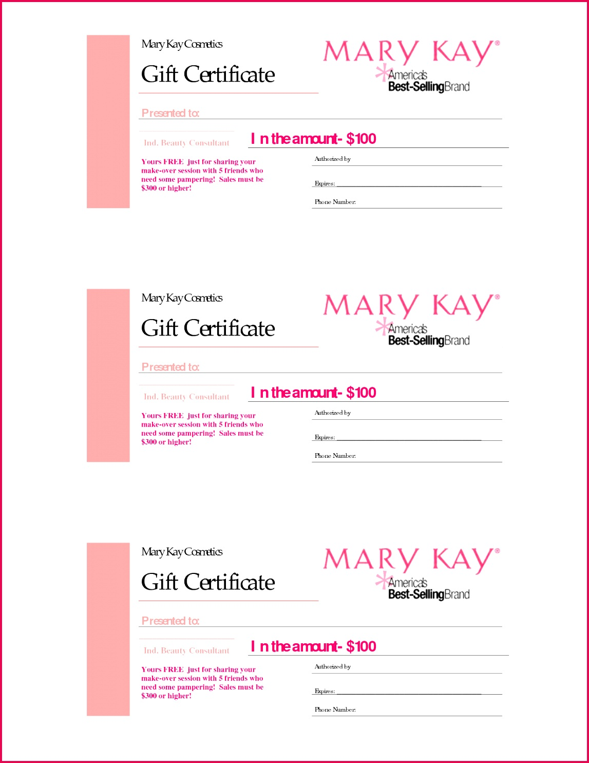 3 pink free printable t certificates t certificate template