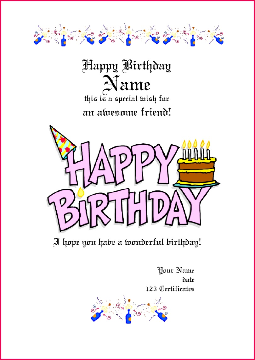 free printable t certificate templates for birthday certificates christmas mac no template word vouchers voucher uk card 2019 form fillable pdf