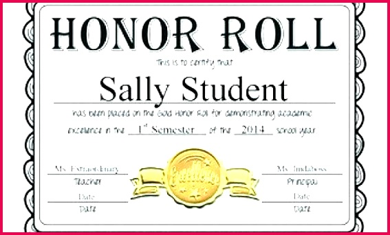editable honor roll certificates gold silver and bronze full within free certificate templates for word ho a b template