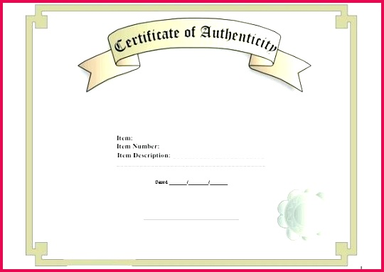 free printable certificate of authenticity templates best word template pictures how to free letter of authenticity template letter of authenticity template