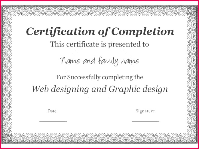 Free Collection 50 Winner Certificate Template Simple