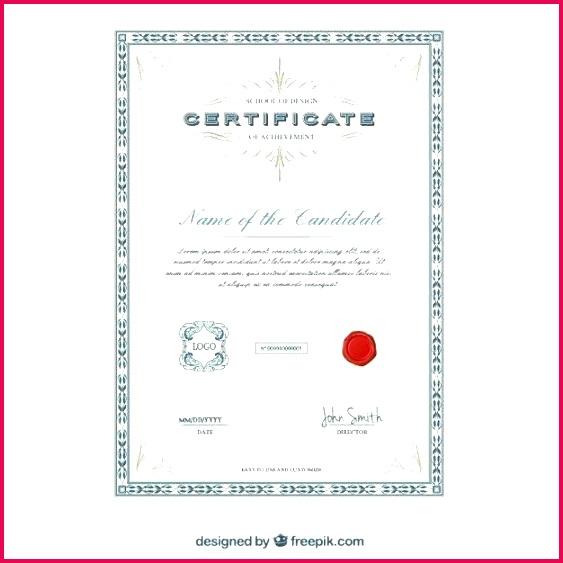 elegant certificate template vector free design templates award certificates word academic open office temp