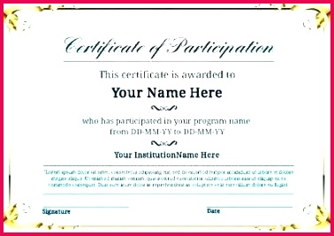 lovely free certificate appreciation certification template word diploma of doc sample format awesome personal project form