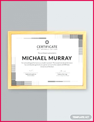 free formal certificate of appreciation template for church members