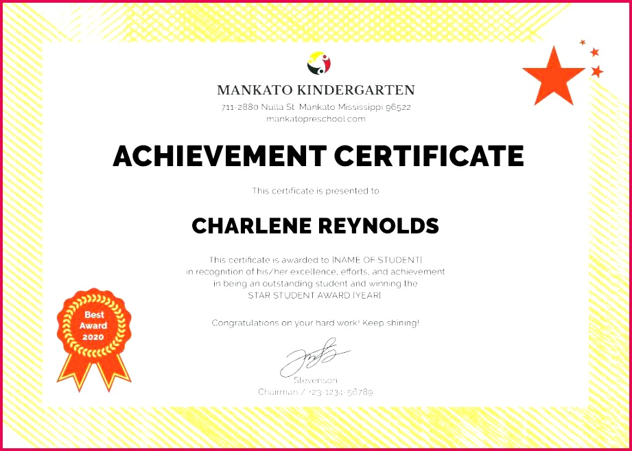 awards for kindergarten awesome preschool certificate template free word format student examples of awards for kindergarten