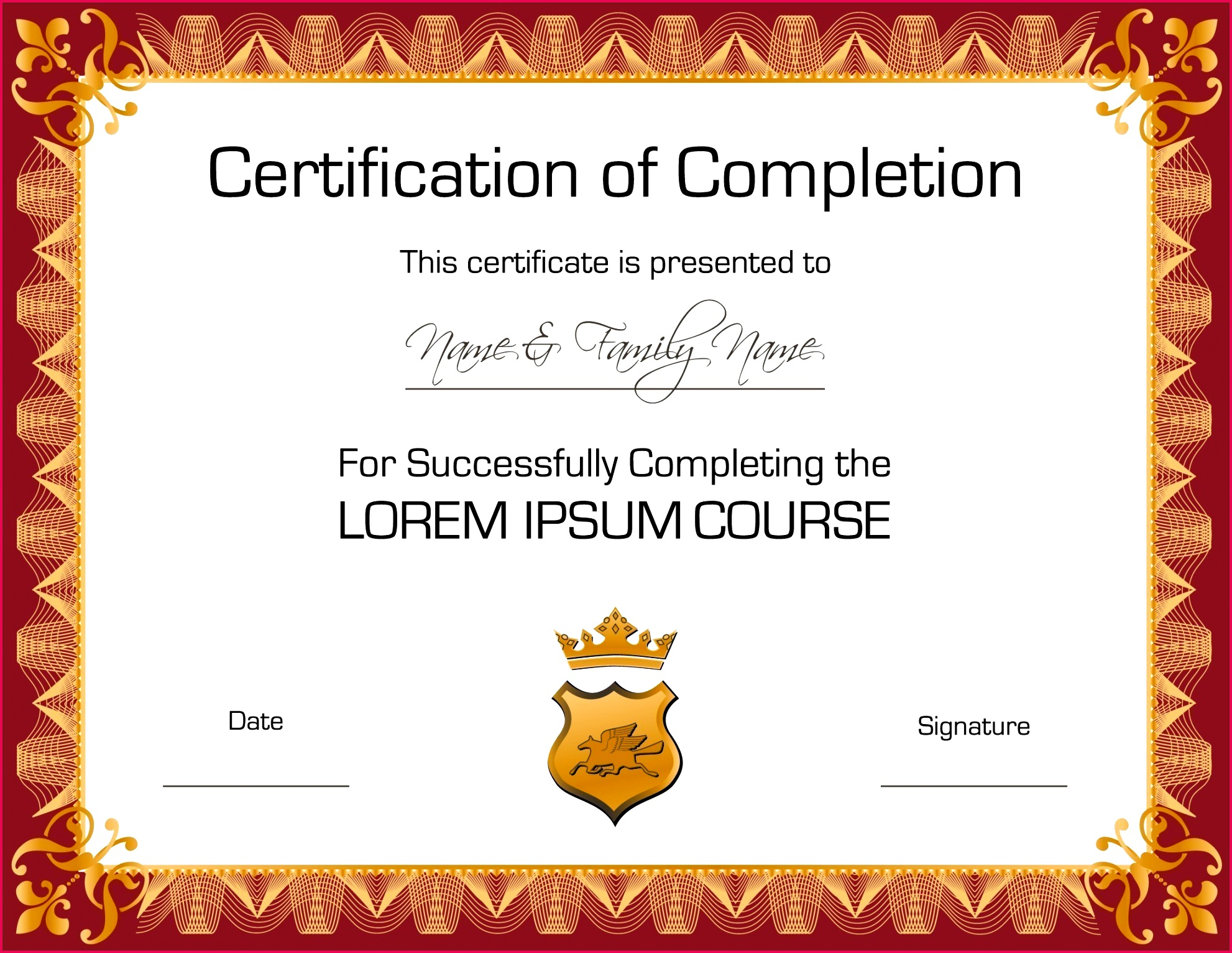 022 template ideas free printable certificates and awards luxury certificate vector copy award of