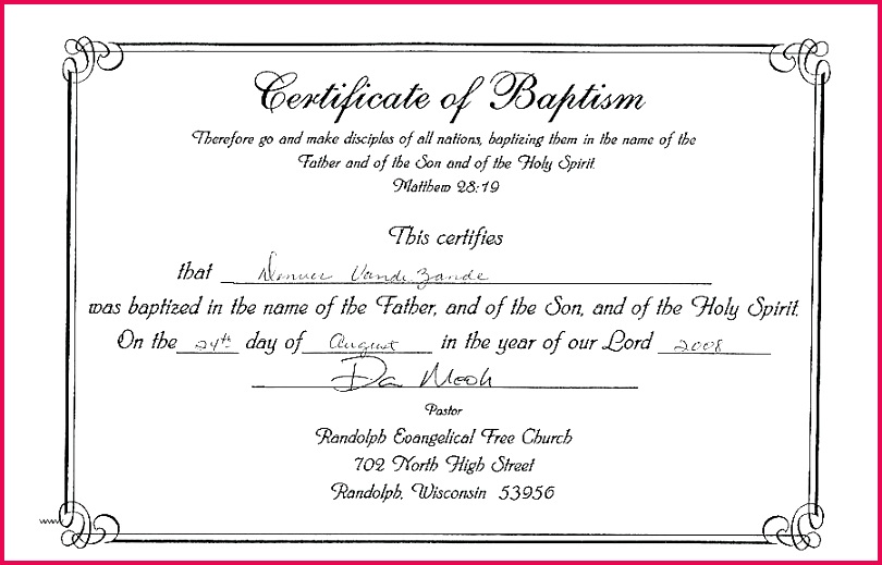 free editable baptism certificate template new prestigious church membership units how to a in word