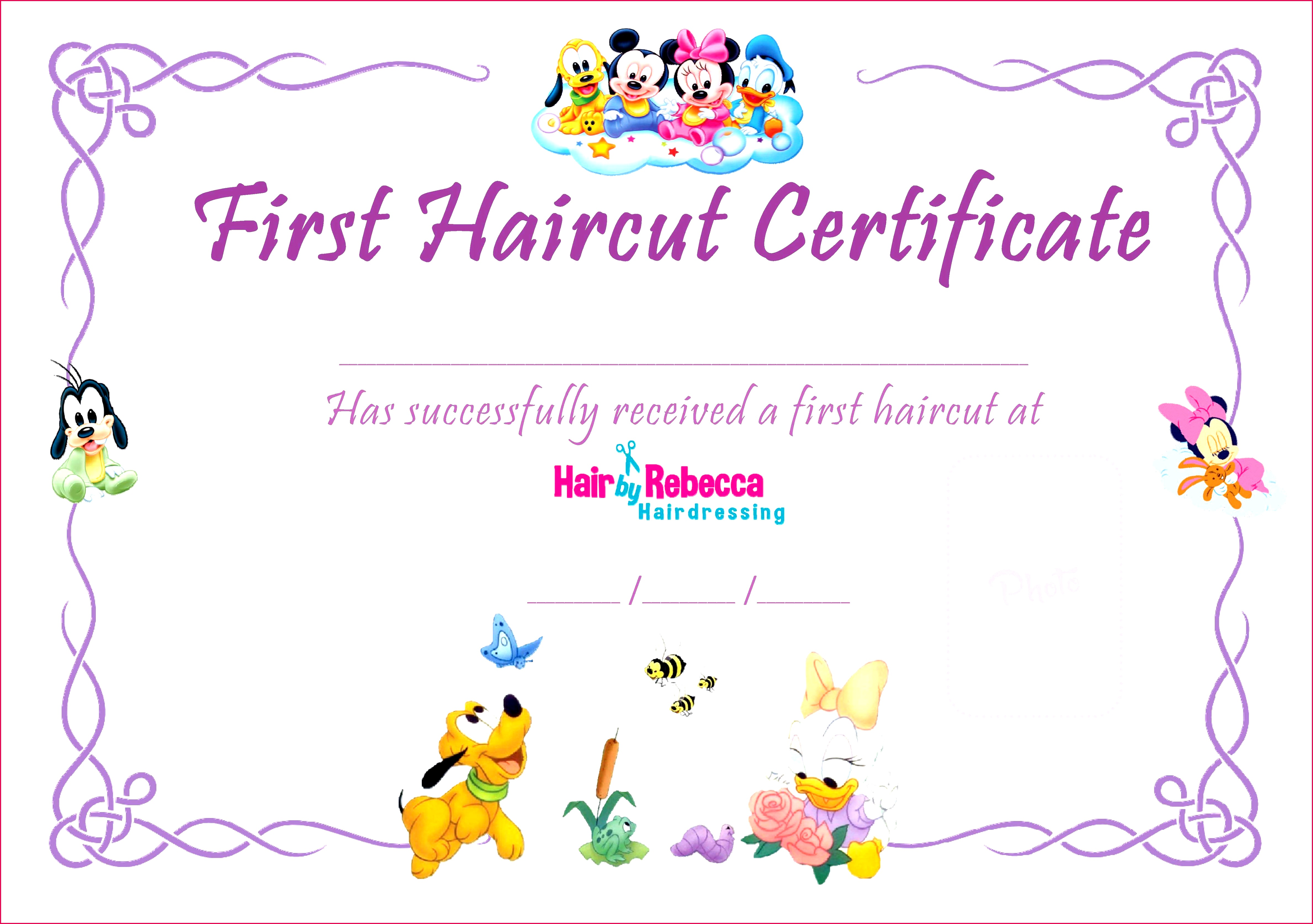 baby first haircut certificate inspirational my first haircut certificate template canasrgdorfbib of baby first haircut certificate