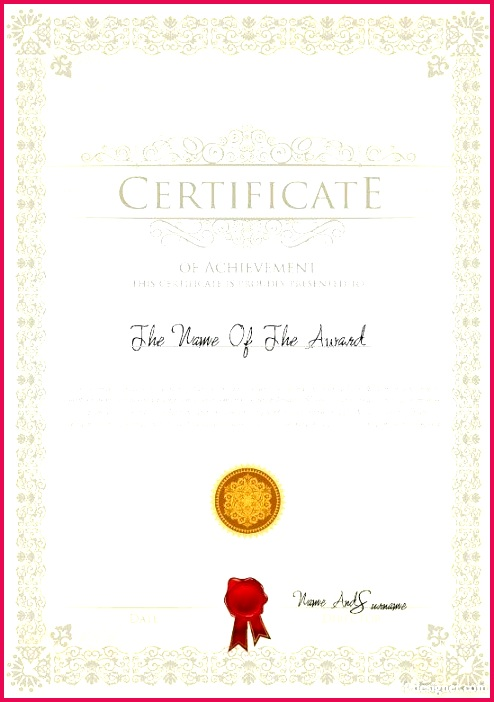 certificate template design vector award free