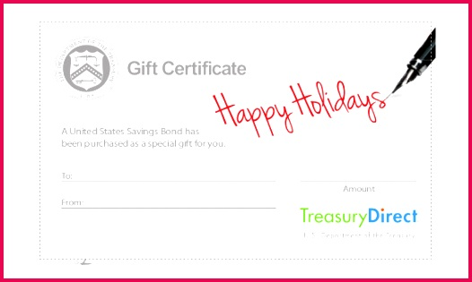 Holiday Gift Certificate Free Download PDF Format