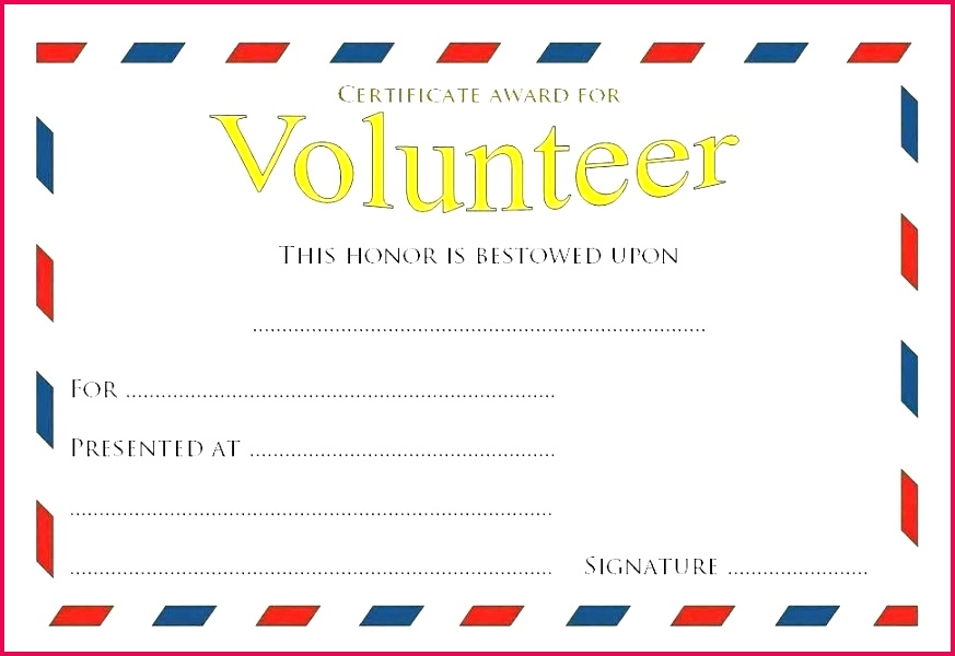 volunteer certificate template appreciation hours long service wording of for work years din templates free