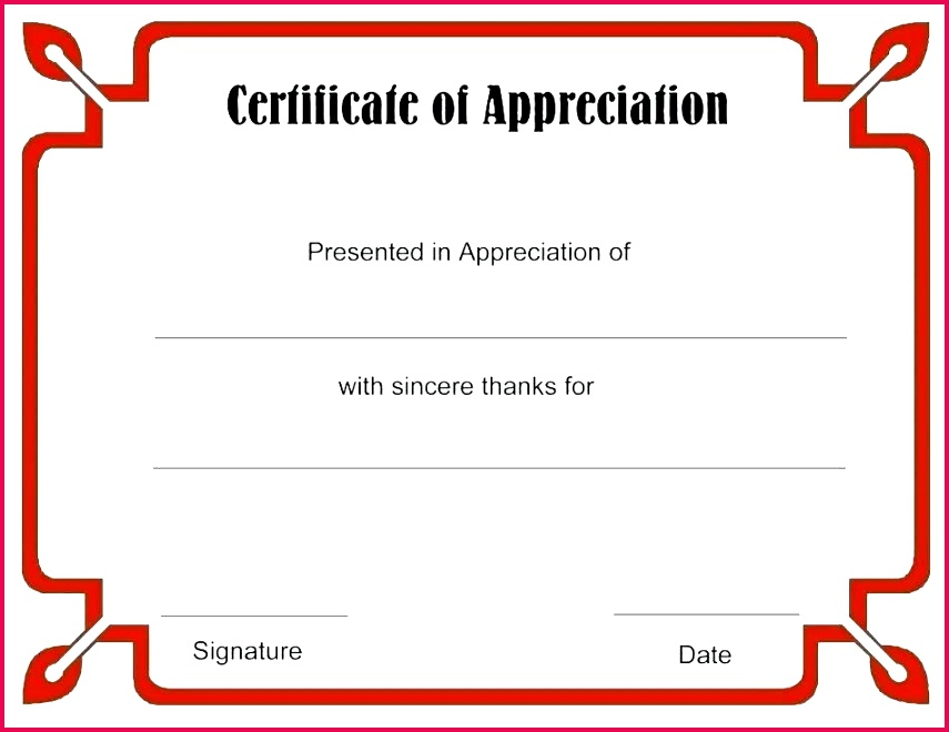 awards thank you award template printable for students parents blank certificates free certificate templates ribbon appreciation ideas pages