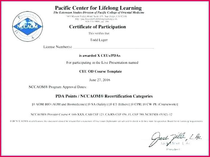 perfect attendance award template inspirational luxury holders certificate free course deped