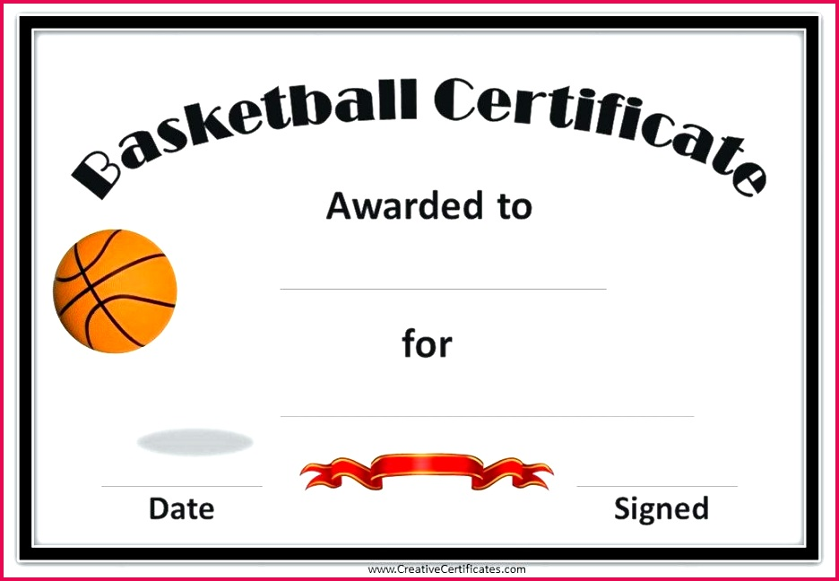 8 best images of basketball award certificate template free free printable basketball award certificate template athletic award certificates free