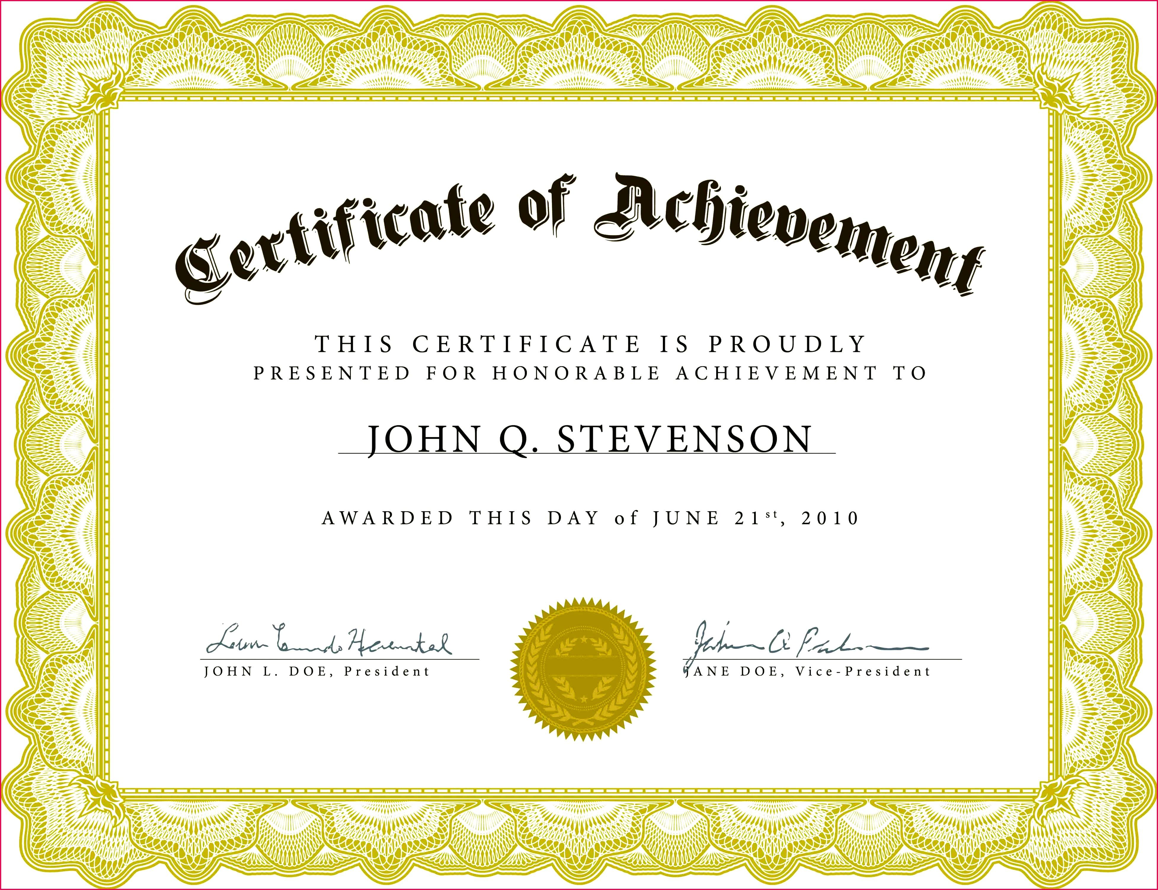 Certificate Templates 4