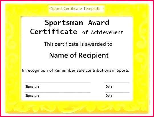 award templates word soccer certificate template athletic printable sports