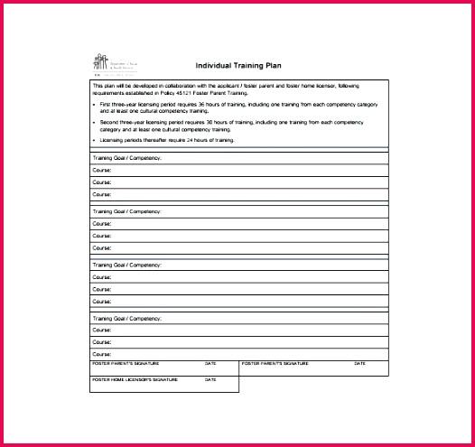 ojt template training plan templates doc free premium templates ojt checklist form