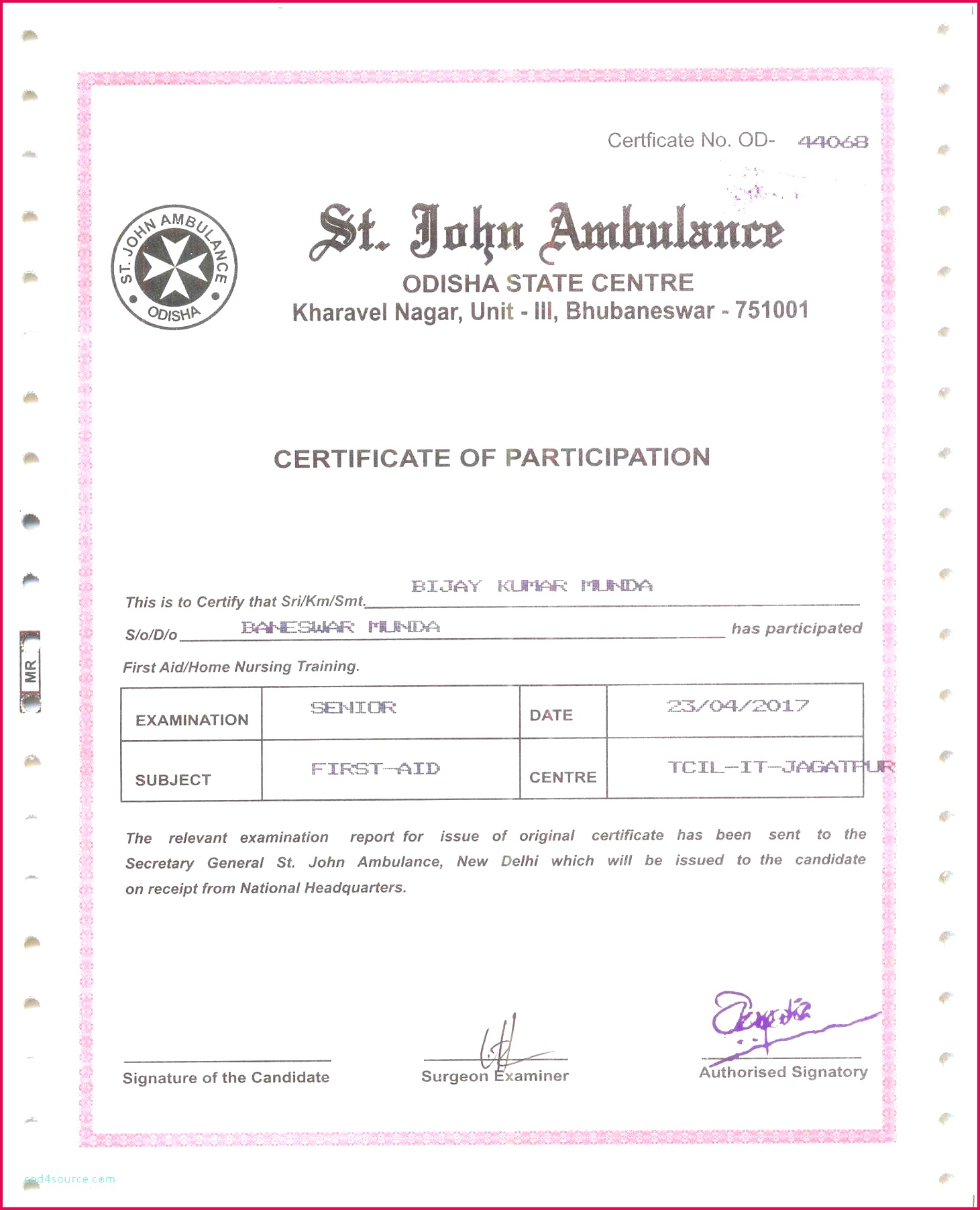 Mexican Birth Certificate In English: 4 French Birth Certificate Translation Sample 98469