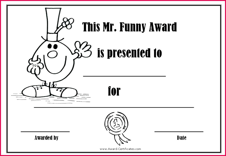funny certificates template free award templates awards office 2 silly certificate