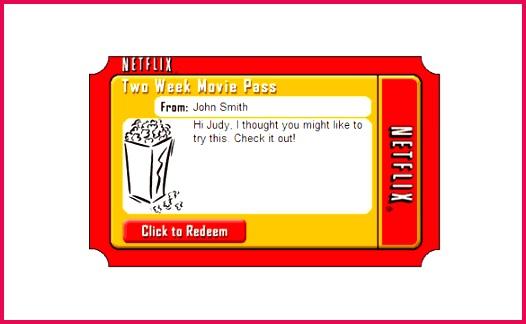 Amazing Netflix Gift Certificate Template