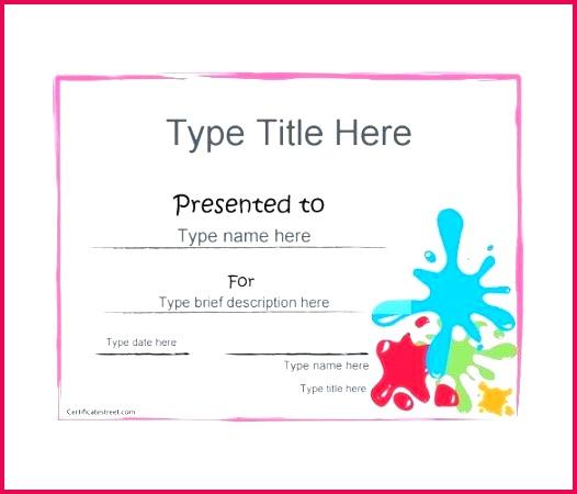blank t certificate templates doc free premium voucher template uk art award