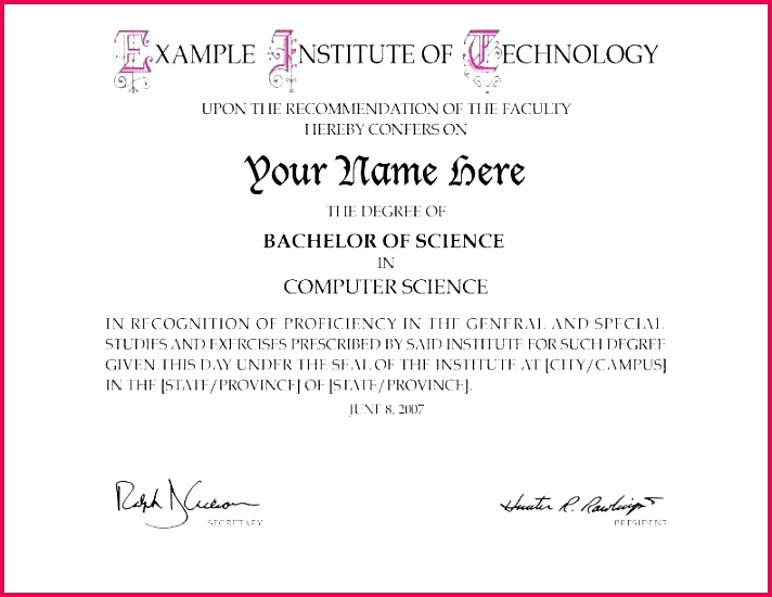 bachelor degree template free graduation certificate templates college fake diploma for pages ios