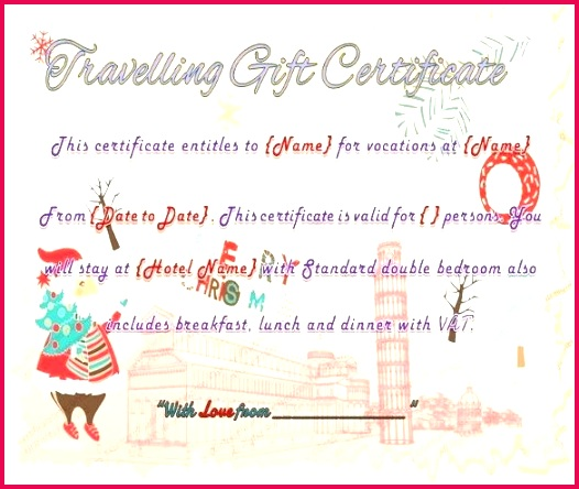 travel voucher template free best t certificate templates 9 word hotel confirmation sample amazing t
