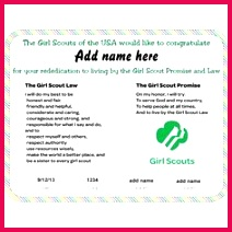 fade65b fe07b458dcb f4a rededication ceremony girl scouts printable certificates