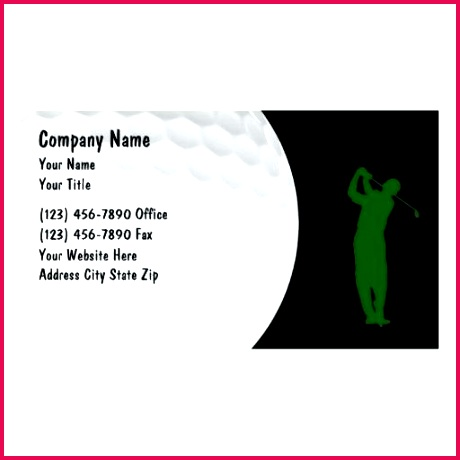 golf business cards free template for t certificates christmas cart card templates