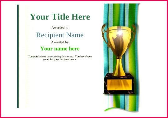 certificate template golf modern 4gt1g thumbnail