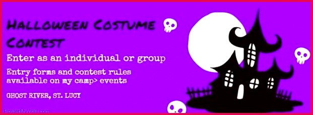 horror party template halloween costume contest free