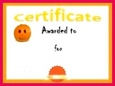 Halloween Award Template Free Certificates Certificate Templates Halloween Costume Awards Halloween Templates