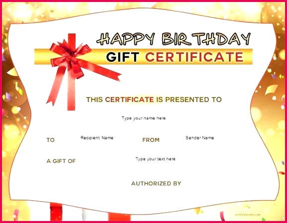 ribbon printable format birthday t certificate template pages