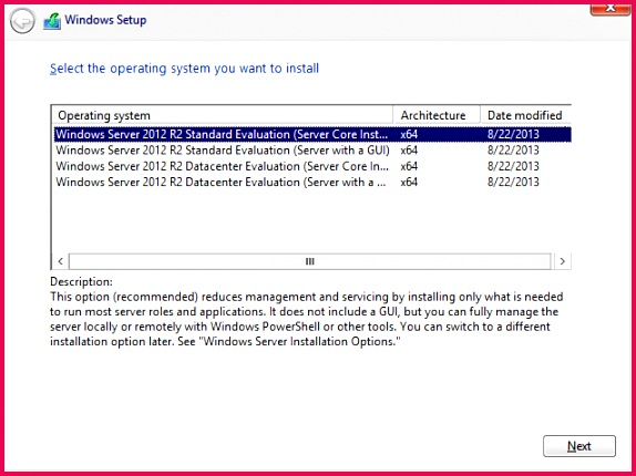 Foundation Topics Installing and Configuring Windows Server 2012 R2