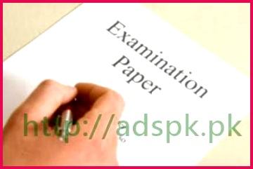 FBISE New Syllabus Pattern Written Test Model Papers 2017 SSC Part II Matric 9th 10th