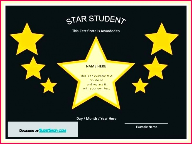 star of the month certificate template award employee adorable wars jedi free