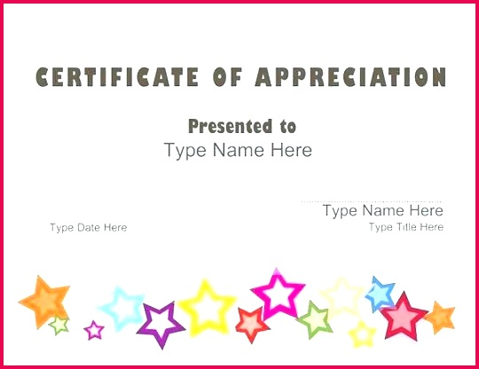 name a star certificate template templates free super border