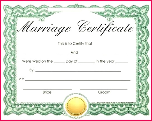 wedding certificate template christian marriage format india free templates printabl